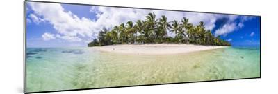 Beachfront at Royale Takitumu Luxury Villas, South Pacific Ocean-Matthew Williams-Ellis-Mounted Photographic Print