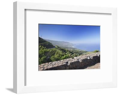 View from Mirador De La Tosca over the North Coast, Barlovento, Canary Islands-Markus Lange-Framed Photographic Print