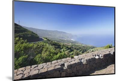 View from Mirador De La Tosca over the North Coast, Barlovento, Canary Islands-Markus Lange-Mounted Photographic Print