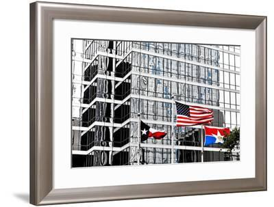 Downtown, Dallas, Texas, United States of America, North America-Kav Dadfar-Framed Photographic Print