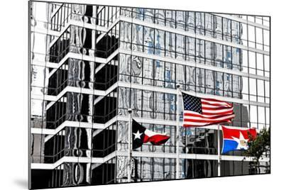 Downtown, Dallas, Texas, United States of America, North America-Kav Dadfar-Mounted Photographic Print