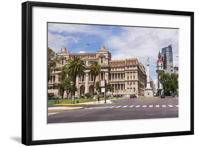 Teatro Colon in Plaza Lavalle (Lavalle Square), Buenos Aires, Argentina, South America-Matthew Williams-Ellis-Framed Photographic Print