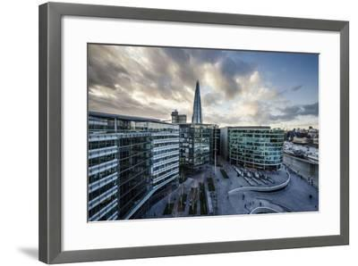 View from City Hall Rooftop over London Skyline, London, England, United Kingdom, Europe-Ben Pipe-Framed Photographic Print