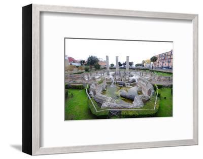 The Macellum of Pozzuoli, Pozzuoli, Naples-Carlo Morucchio-Framed Photographic Print