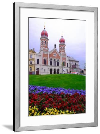 The Great Synagogue, Pilsen (Plzen), Western Bohemia, Czech Republic, Europe-Carlo Morucchio-Framed Photographic Print