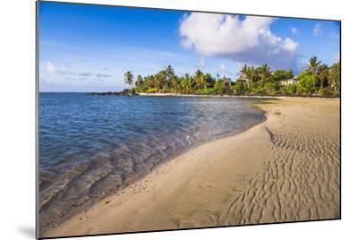Muri Beach at Sunrise, Rarotonga, Cook Islands, South Pacific, Pacific-Matthew Williams-Ellis-Mounted Photographic Print