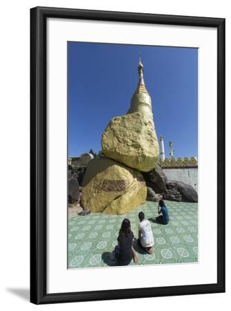 Nwa-La-Bo Pagoda, Mawlamyine, Mon, Myanmar (Burma), Southeast Asia-Alex Robinson-Framed Photographic Print