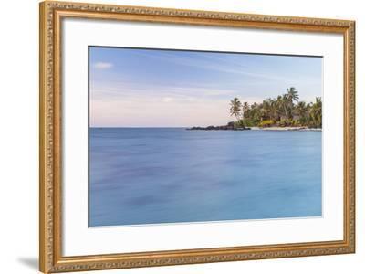 Muri Lagoon Sunrise, Rarotonga, Cook Islands, South Pacific, Pacific-Matthew Williams-Ellis-Framed Photographic Print