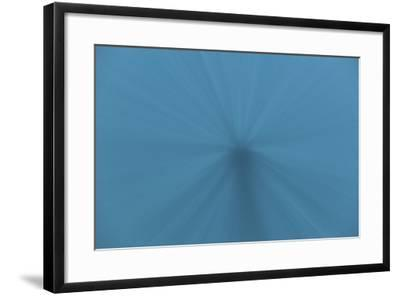 Beams of Sunlight Descend into Deep Water in the Pacific Ocean-Stocktrek Images-Framed Photographic Print