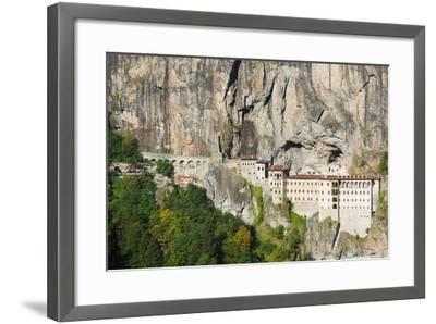 Sumela Monastery, Anatolia-Christian Kober-Framed Photographic Print