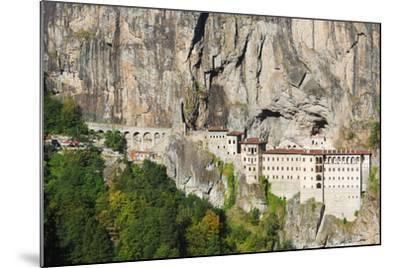Sumela Monastery, Anatolia-Christian Kober-Mounted Photographic Print