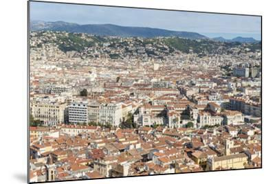 Cityscape Skyline View over the City of Nice, French Riviera-Chris Hepburn-Mounted Photographic Print