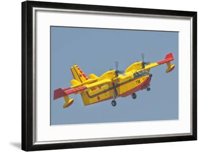 A Royal Moroccan Air Force Cl-415-Stocktrek Images-Framed Photographic Print