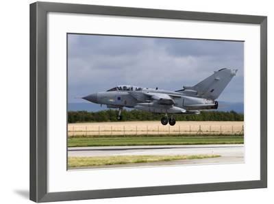 A Royal Air Force Tornado Gr4A Landing at its Home Base-Stocktrek Images-Framed Photographic Print