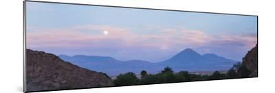 Sunset at Licancabur Volcano, Stratovolcanos in the Atacama Desert-Matthew Williams-Ellis-Mounted Photographic Print