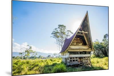 Traditional Batak House in Lake Toba, Sumatra, Indonesia, Southeast Asia-John Alexander-Mounted Photographic Print