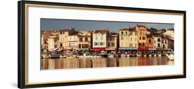 Fishing Boats at the Harbour, Southern France-Markus Lange-Framed Photographic Print