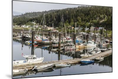 Queen Charlotte City Harbor, Haida Gwaii (Queen Charlotte Islands), British Columbia-Michael Nolan-Mounted Photographic Print