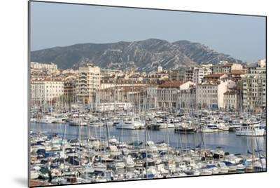 The Old Port of Marseille (Vieux Port) in Marseille, Mediterranean-Chris Hepburn-Mounted Photographic Print