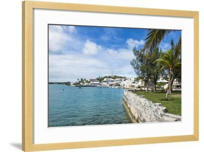 The Harbour of the UNESCO World Heritage Site, the Historic Town of St George, Bermuda-Michael Runkel-Framed Photographic Print