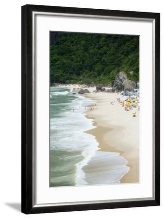Prainha Beach Near the Olympic Site in Barra Da Tijuca (Recreio Dos Bandeirantes), Brazil-Alex Robinson-Framed Photographic Print