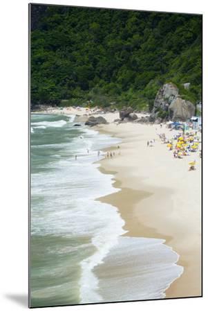 Prainha Beach Near the Olympic Site in Barra Da Tijuca (Recreio Dos Bandeirantes), Brazil-Alex Robinson-Mounted Photographic Print