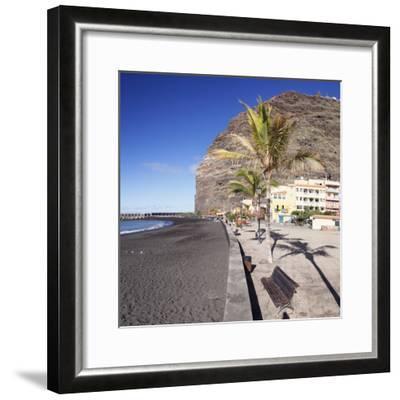 Beach of Puerto De Tazacorte, La Palma, Canary Islands, Spain, Europe-Markus Lange-Framed Photographic Print