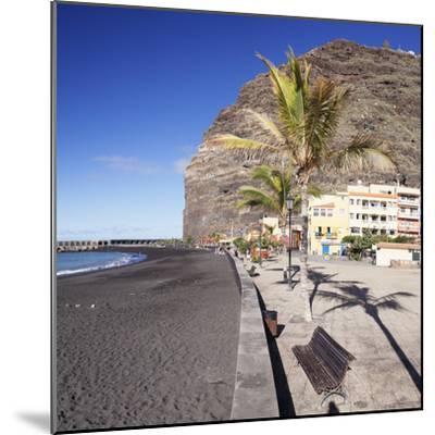 Beach of Puerto De Tazacorte, La Palma, Canary Islands, Spain, Europe-Markus Lange-Mounted Photographic Print