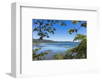 View from Tambor across Ballena Bay Towards Pochote on Southern Tip of Nicoya Peninsula, Costa Rica-Rob Francis-Framed Photographic Print