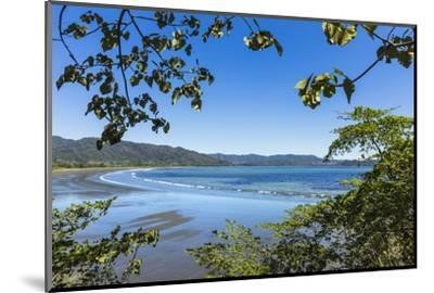 View from Tambor across Ballena Bay Towards Pochote on Southern Tip of Nicoya Peninsula, Costa Rica-Rob Francis-Mounted Photographic Print