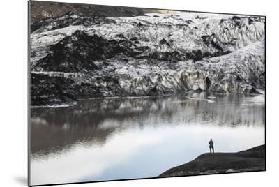 Exploring Solheimajokull Glacier, South Iceland (Sudurland), Iceland, Polar Regions-Matthew Williams-Ellis-Mounted Photographic Print