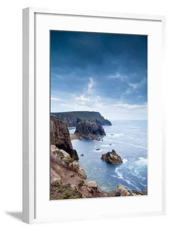 Land's End, Penzance, Cornwall, England, United Kingdom, Europe-Kav Dadfar-Framed Photographic Print