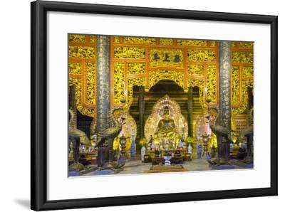 Tam the Hall at Bai Dinh Temple (Chua Bai Dinh), Gia Vien District, Ninh Binh Province, Vietnam-Jason Langley-Framed Photographic Print