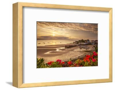Tenby, Pembrokeshire, Wales, United Kingdom, Europe-Billy Stock-Framed Photographic Print