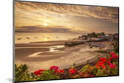 Tenby, Pembrokeshire, Wales, United Kingdom, Europe-Billy Stock-Mounted Photographic Print
