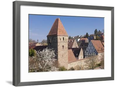Haspelturm (Hexenturm) Tower, Kloster Maulbronn Abbey, Black Forest, Baden-Wurttemberg, Germany-Markus Lange-Framed Photographic Print