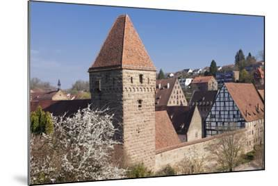 Haspelturm (Hexenturm) Tower, Kloster Maulbronn Abbey, Black Forest, Baden-Wurttemberg, Germany-Markus Lange-Mounted Photographic Print