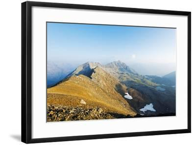 Macun Lakes, Swiss National Park, Engadine, Graubunden, Switzerland, Europe-Christian Kober-Framed Photographic Print