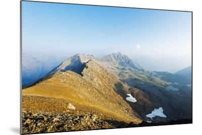 Macun Lakes, Swiss National Park, Engadine, Graubunden, Switzerland, Europe-Christian Kober-Mounted Photographic Print