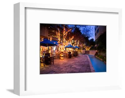 San Antonio Riverwalk, San Antonio, Texas, United States of America, North America-Jim Nix-Framed Photographic Print