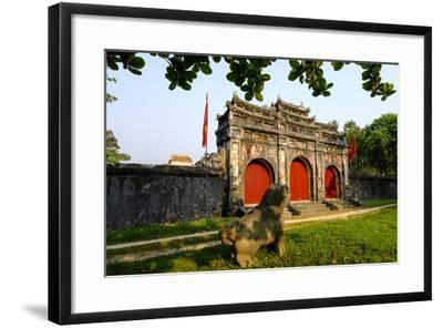 Tomb of the Emperor Minh Mang of Nguyen Dynasty, Sung an Palace, Group of Hue Monuments-Nathalie Cuvelier-Framed Photographic Print
