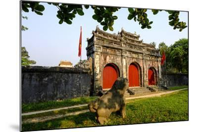 Tomb of the Emperor Minh Mang of Nguyen Dynasty, Sung an Palace, Group of Hue Monuments-Nathalie Cuvelier-Mounted Photographic Print