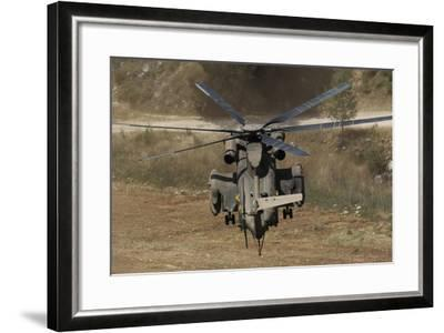 Rear View of an Israeli Air Force Ch-53 Yasur Helicopter-Stocktrek Images-Framed Photographic Print
