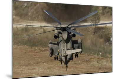 Rear View of an Israeli Air Force Ch-53 Yasur Helicopter-Stocktrek Images-Mounted Photographic Print