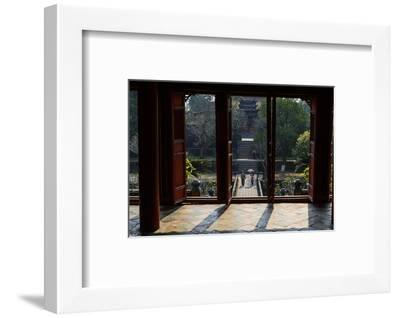 Tomb of the Emperor Minh Mang of Nguyen Dynasty, the Light Pavillon, Group of Hue Monuments-Nathalie Cuvelier-Framed Photographic Print
