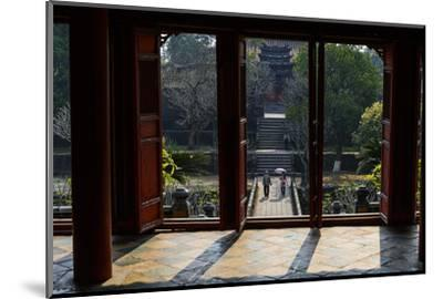 Tomb of the Emperor Minh Mang of Nguyen Dynasty, the Light Pavillon, Group of Hue Monuments-Nathalie Cuvelier-Mounted Photographic Print