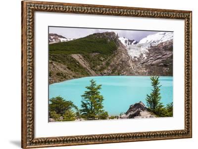 Huemul Lake (Lago Huemul) and Huemul Glacier (Glaciar Huemul), El Chalten, Patagonia, Argentina-Matthew Williams-Ellis-Framed Photographic Print