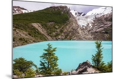 Huemul Lake (Lago Huemul) and Huemul Glacier (Glaciar Huemul), El Chalten, Patagonia, Argentina-Matthew Williams-Ellis-Mounted Photographic Print