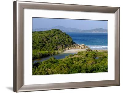 Vinh Hy Bay, Nui Cha National Park, Ninh Thuan Province, Vietnam, Indochina, Southeast Asia, Asia-Nathalie Cuvelier-Framed Photographic Print