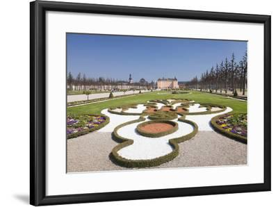 Schloss Schwetzingen Palace, Baroque Garden, Schwetzingen, Baden-Wurttemberg, Germany, Europe-Markus Lange-Framed Photographic Print